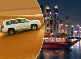 Desert Safari + Marina Cruise Dinner